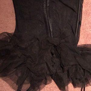 Victoria's Secret Intimates & Sleepwear - NWOT Victoria's Secret Rhinestone Corset and Panty